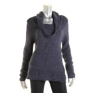 Cotton Emporium Womens Juniors Sweater Open Stitch Long Sleeves