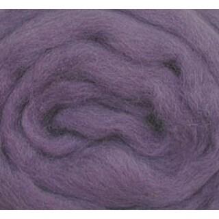 """Lavender - Wool Roving 12"""" .22Oz"""