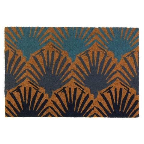Nikki Chu Bondi Seashell Coir Doormat