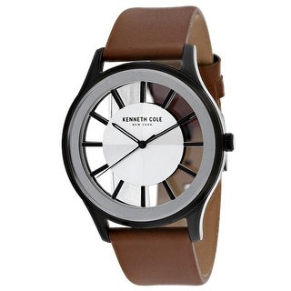 Kenneth Cole Men's Classic KC50500003 Silver Dial Watch