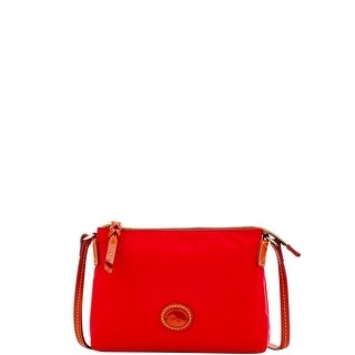 Dooney & Bourke Nylon Crossbody Pouchette (Introduced by Dooney & Bourke at $88 in Feb 2017) - Red