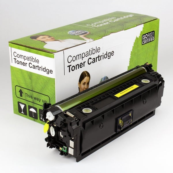 Value Brand replacement for HP 508X Yellow Toner CF362X (9,500 Yield)