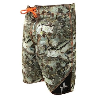 Guy Harvey Mens Strike Boardshorts - Camo
