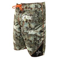 Guy Harvey Mens Strike Boardshorts