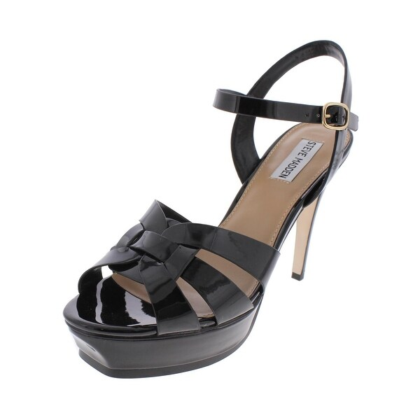 Steve Madden Womens Zeppole Dress Sandals Open Toe Stiletto - 10 medium (b,m)