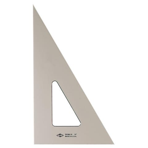 Alvin sk360-14 14 smoke-tint triangle 30°/60°