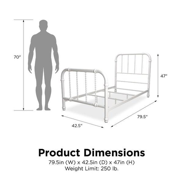 Avenue Greene Elliot Metal Twin Bed