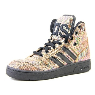 Adidas Jeremy Scott Instinct Round Toe Synthetic Sneakers