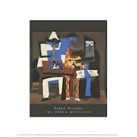 ''The Three Musicians'' by Pablo Picasso Mini-Prints Art Print (14 x 11 in.)