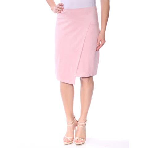 KENSIE Womens Pink Wear To Work Skirt Size: S