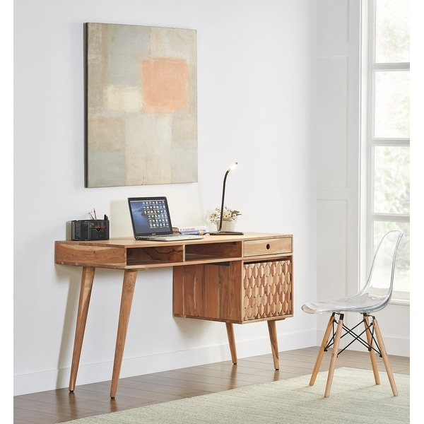 Honeycomb Office Desk With Storage Modern and Contemporary. Opens flyout.
