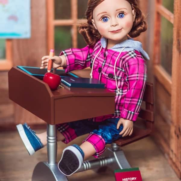 20 Pcs American Doll Clothes and Accessories fit American 18 inch Girl Dolls ...