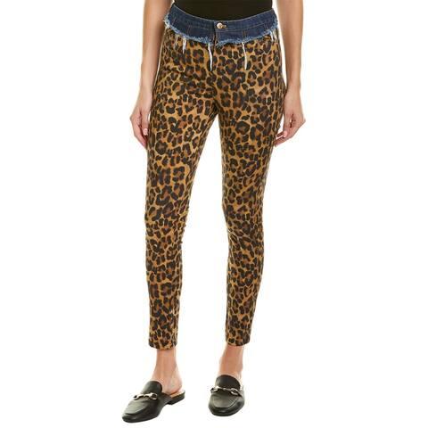 Nicole Miller Artelier Leopard Print Pant