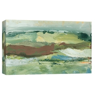 "PTM Images 9-101920  PTM Canvas Collection 8"" x 10"" - ""Landscape Study 18"" Giclee Abstract Art Print on Canvas"