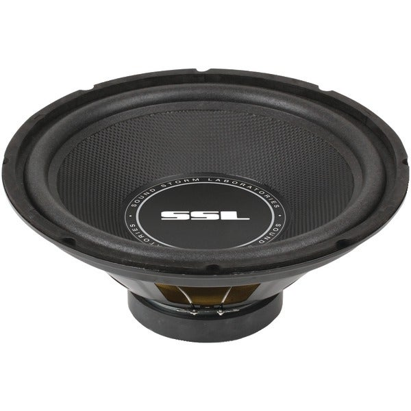 """Soundstorm Ss12 Ss Series High-Power Single 4Ohm Voice-Coil Subwoofer With Poly-Injection Cone (12"""", 800 Watts)"""