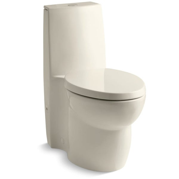 Kohler K 3564 Saile Elongated One Piece Toilet With Dual Flush Technology And