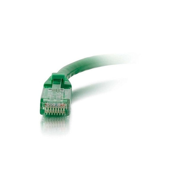 C2g 27174 14Ft Cat6 Snagless Unshielded Utp Network Patch Ethernet Cable-Green