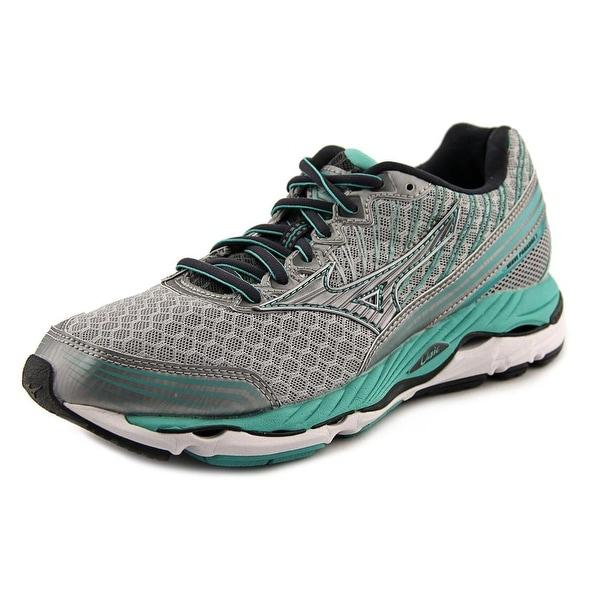 Mizuno Wave Paradox 2 Women Silver/Dark Gray/Lime Green Running Shoes