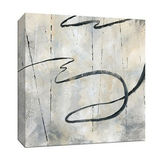 "PTM Images 9-147677  PTM Canvas Collection 12"" x 12"" - ""Neutral Dance I"" Giclee Abstract Art Print on Canvas"