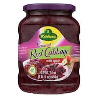 Kuhne Red Cabbage with Apples - Case of 12 - 24 oz.