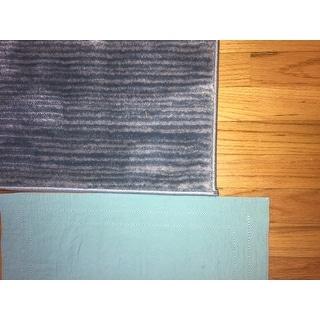 """Safavieh Vision Contemporary Tonal Aqua Blue Area Rug - 5'1"""" x 7'6"""""""