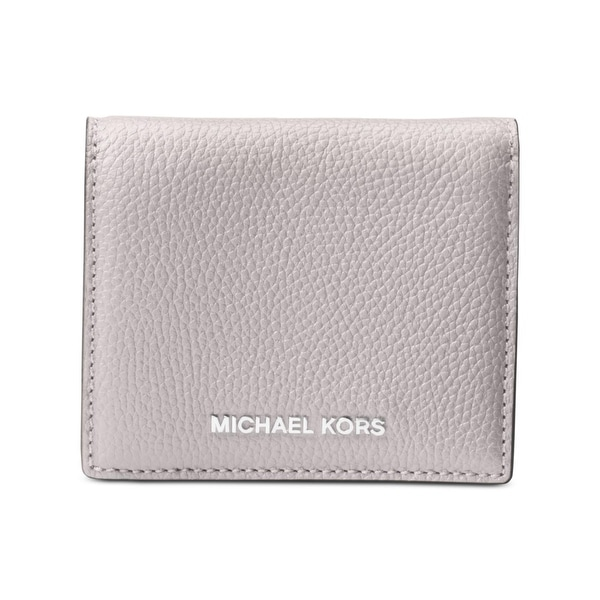 8730719a38a7 MICHAEL Michael Kors Womens Mercer Bifold Wallet Pebbled Flap Over - o/s