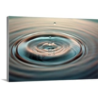 """Water drop"" Canvas Wall Art"