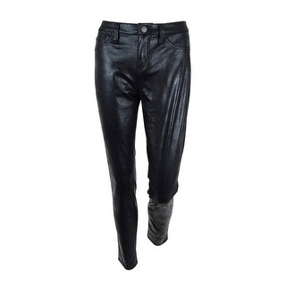 Tinseltown Denim Couture Juniors Faux-Leather Skinny Pants