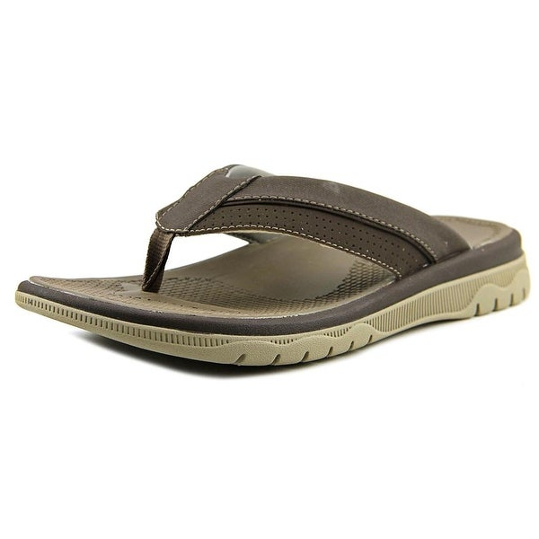 Clarks Narrative Balta Sun Men Open Toe Synthetic Brown Thong Sandal