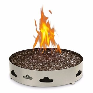 Napoleon GPFGN-2 Patioflame 60000 BTU 20 Inch Diameter Natural Gas Outdoor Fireplace - STAINLESS STEEL