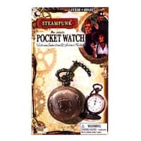Steampunk Pocket Watch Costume Accessory - Brown