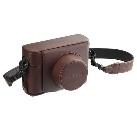 Fujifilm X100F Premium Leather Case (Brown)