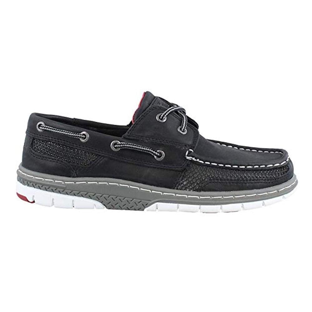 Tarpon Ultralite Boat Shoe, Black