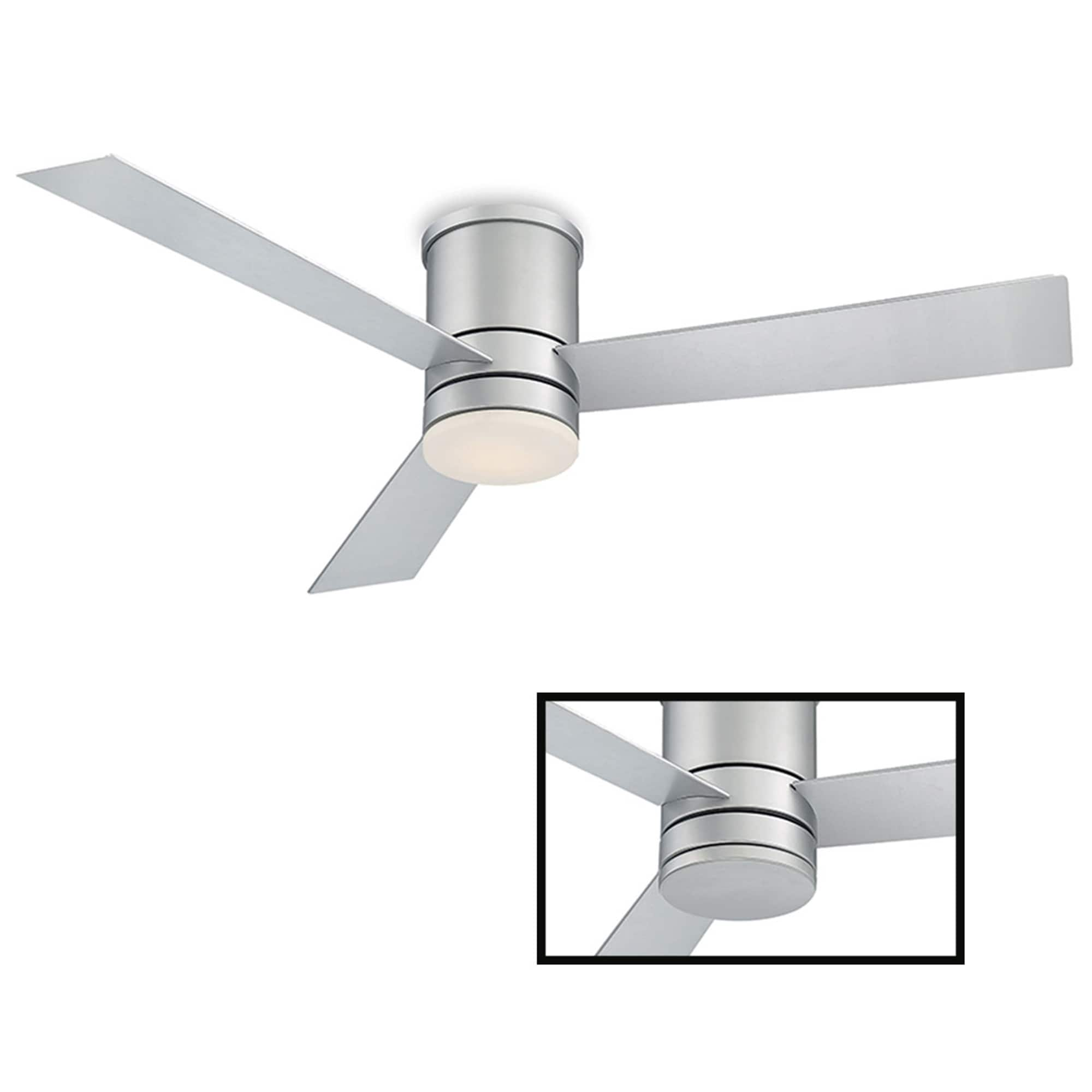 Shop For Axis 52 Inch Three Speed Indoor Outdoor Smart Flush Mount Ceiling Fan With Six Speed Dc Motor And Led Light Get Free Delivery On Everything At Overstock Your Online Ceiling Fans Accessories Store Get 5 In Rewards With Club O