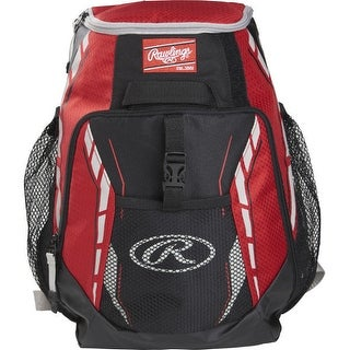 Rawlings R400-S Players Backpack (Scarlet Red)