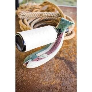 Wine Bottle Holder - Rainbow Trout Fish Design