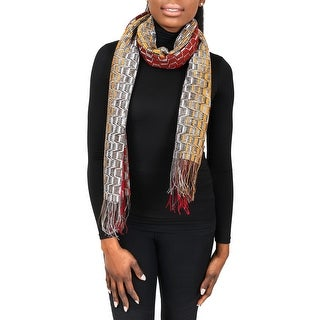 Missoni SC31PSD5929 0003 Multicolor Wool Blend Womens Scarf