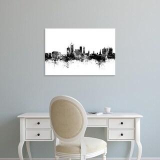 Easy Art Prints Michael Tompsett's 'Derby England Skyline' Premium Canvas Art