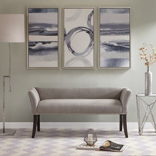 Link to Madison Park Antonio Upholstered Rectangle Accent Bench Similar Items in Living Room Furniture