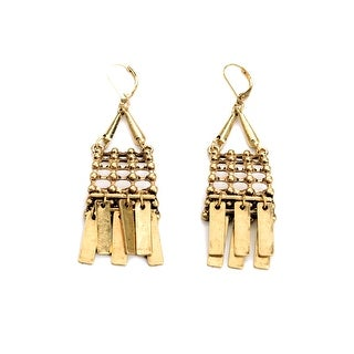 Cleopatra's Best Gold Dangle Earrings