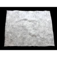"36"" x 60"" White Artificial Powder Snow Christmas Drape"