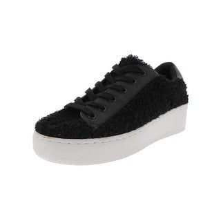 Steve Madden Womens Bailey Fashion Sneakers Textured Platform