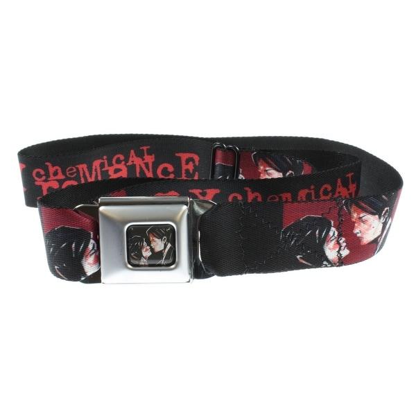 My Chemical Romance Seatbelt Belt Holds Pants Up