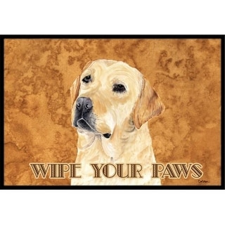 Carolines Treasures SC9133MAT 18 x 27 in. Labrador Indoor & Outdoor Doormat