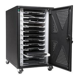 Kensington Ac12 Security Charging Cabinet For Tablets, Chromebooks, & 2 In 1 Laptops (K64415na)