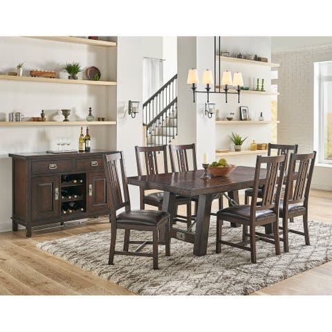 Simply Solid Solera Solid Wood 7-piece Dining Collection