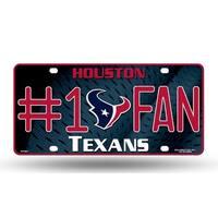 Houston Texans License Plate - #1 Fan