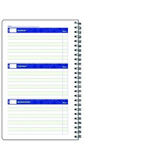 Hammond Stephens Undated Weekly Student Planner, 5 x 8 in, 96 Pages