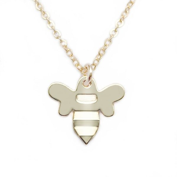"Julieta Jewelry Bee Gold Charm 16"" Necklace"