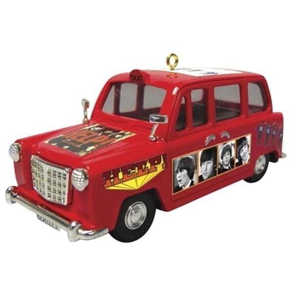Carlton Cards Heirloom The Beatles Help Portrait Car Christmas Ornament - RED